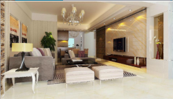 Series of polished tiles effect